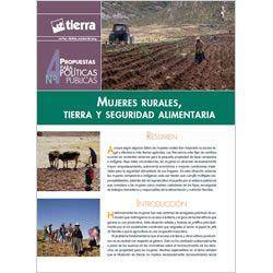 Mujeres rurales, tierra y seguridad alimentaria