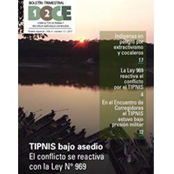 Boletín Trimestral DOCE N° 12: TIPNIS bajo asedio